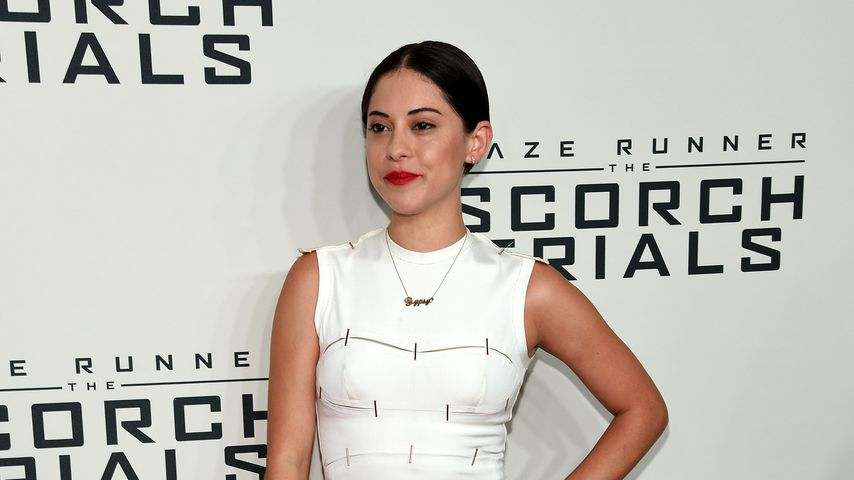 "Rosa Salazar bei der Premiere von ""Maze Runner: The Scorch Trials"" in New York"