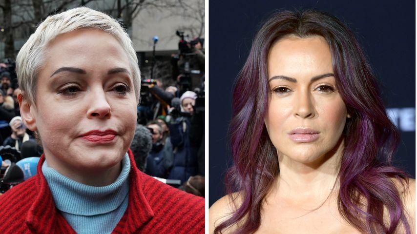 """""""Charmed"""": Alyssa Milano und Rose McGowan weiterhin verzofft"""