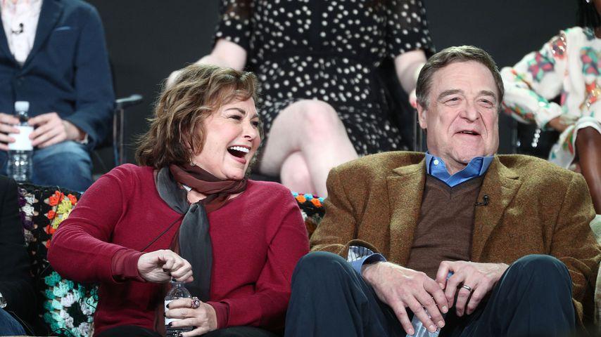 Roseanne Barr und John Goodman, 2018