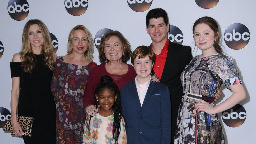 """Roseanne""-Cast bei der ABC Winter Press Tour 2018"