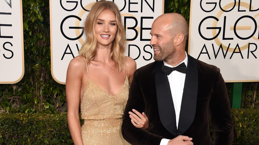 Jason Statham und Rosie Huntington-Whiteley