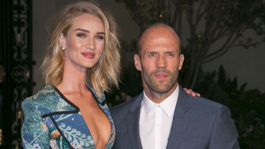 Süß! Rosie Huntington-Whiteley im seltenen Liebes-Interview