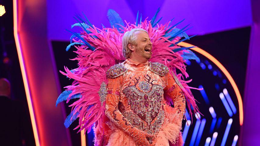 "Ross Antony als ""The Masked Singer""-Flamingo"