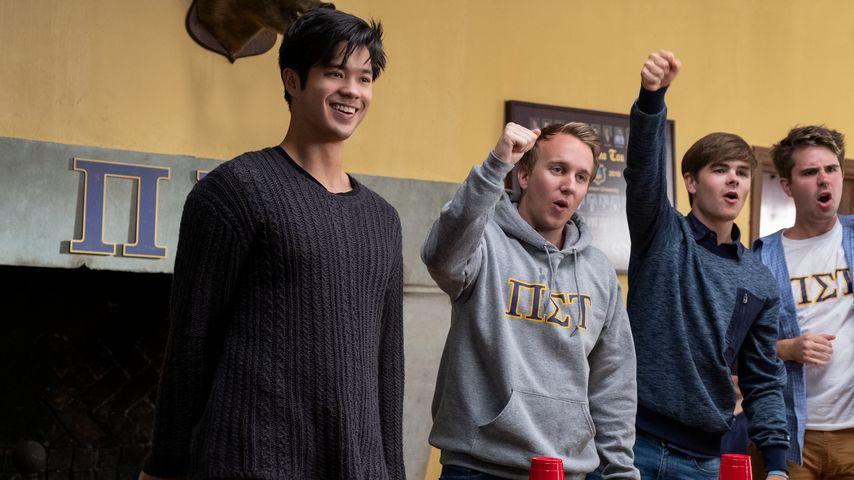 """Ross Butler (links) als Zach Dempsey in """"Tote Mädchen lügen nicht"""""""