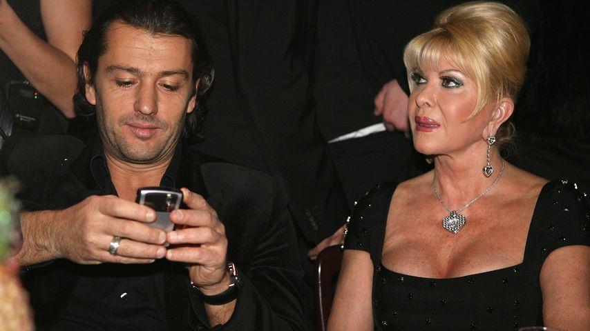 Rossano Rubicondi und Ivana Trump in Januar 2008