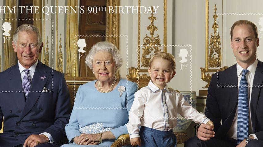 Super niedlich: Prinz George gibt's jetzt als Briefmarke!