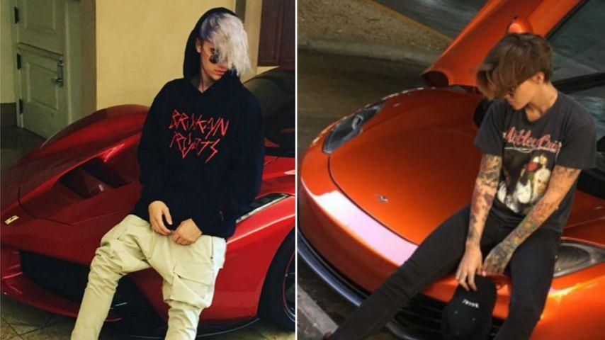 Justins Doppelgänger: Ruby Rose stellt sich in Bieber-Pose!