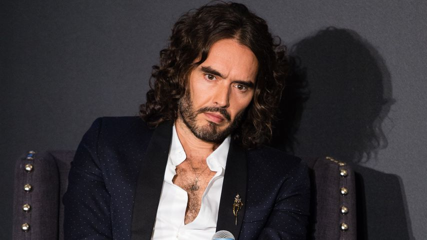 Russel Brand bei einer Panel-Diskussion in London