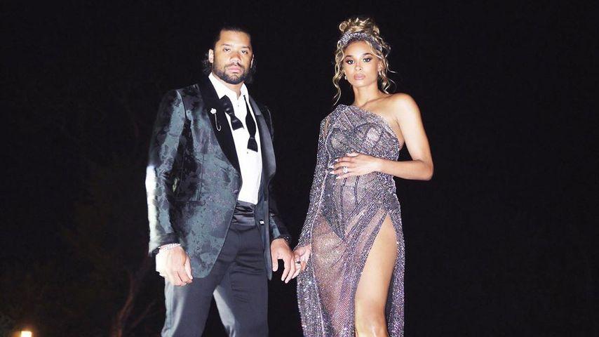 Russell Wilson und Ciara im Februau 2020