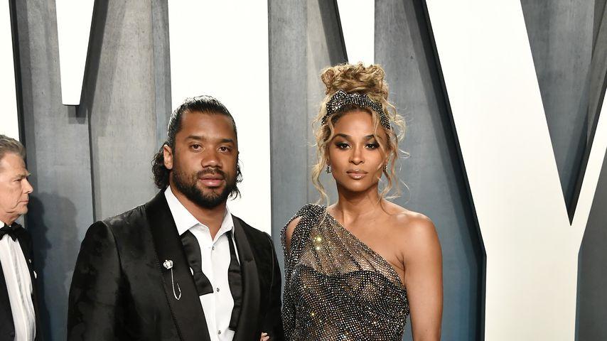 Russell Wilson und Ciara im Februar 2020 in Beverly Hills