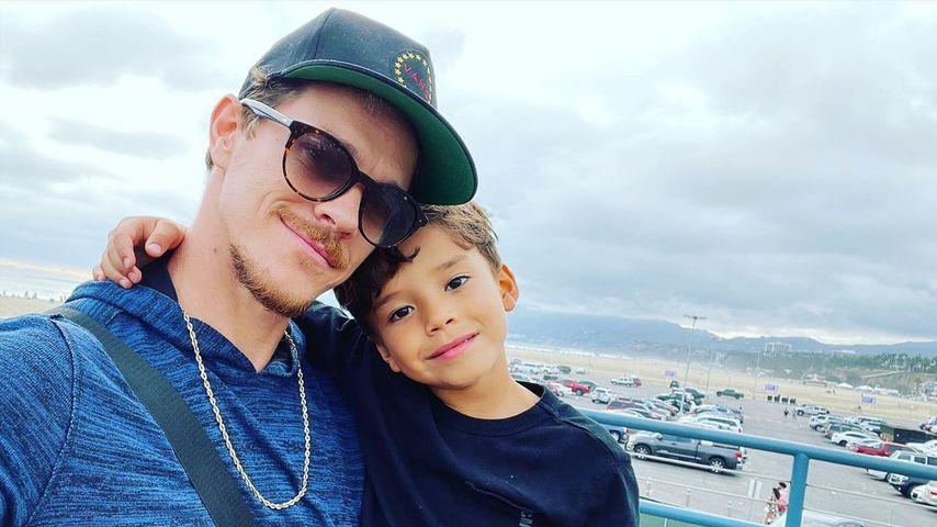 Ryan Dorsey mit seinem Sohn Josey