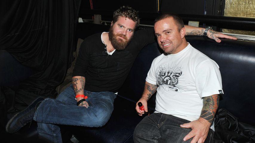 "Ryan Dunn und Jackass-Kollege ""Wee Man"""