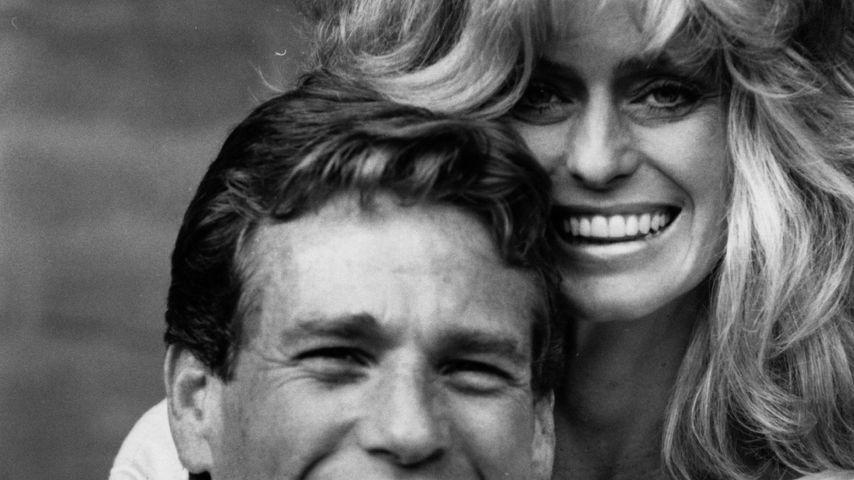 Ryan O'Neal und Farrah Fawcett 1984