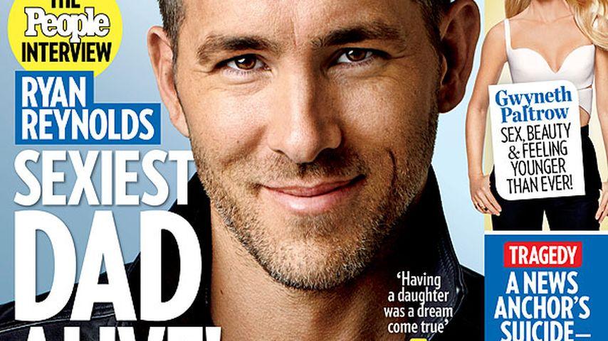 """Papa-Ehre: Darum ist Ryan Reynolds der """"Sexiest Dad Alive""""!"""