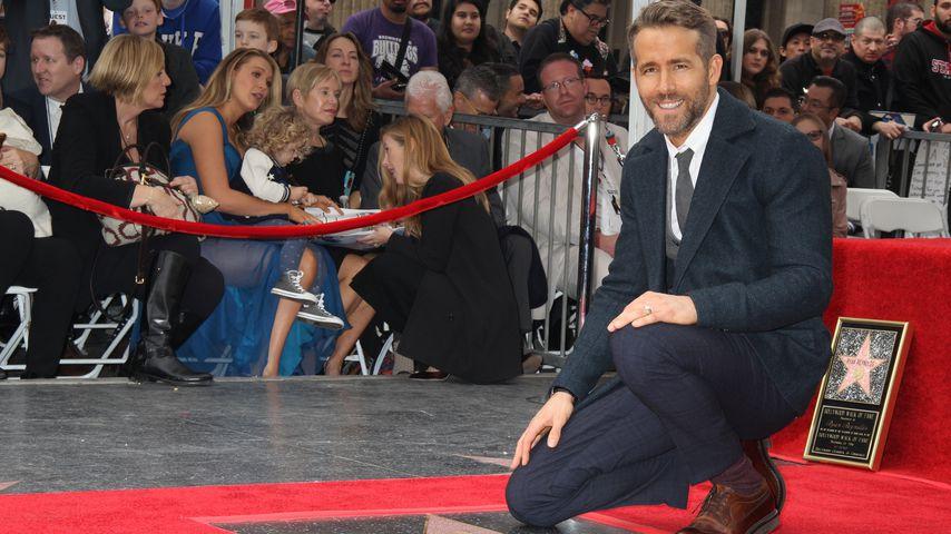Ryan Reynolds auf dem Walk of Fame