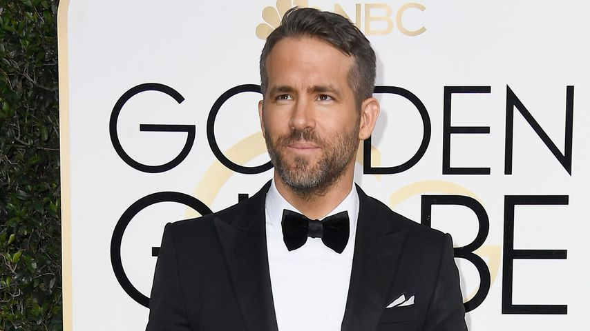 Ryan Reynolds bei den 74. Golden Globes in Los Angeles