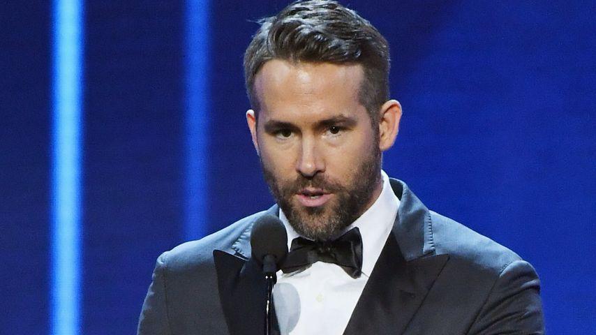 Ryan Reynolds bei seiner Dankesrede der Critics' Choice Awards