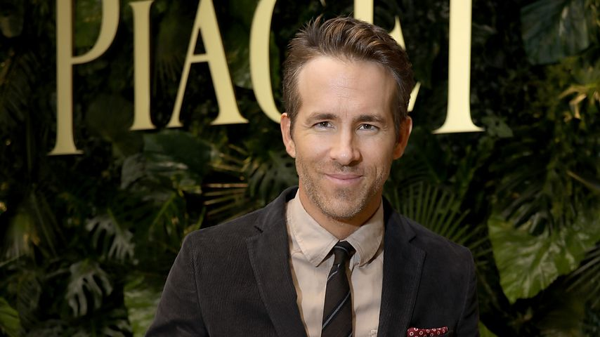 Fieber messen bei James: Ryan Reynolds hat ein Papa-Trauma
