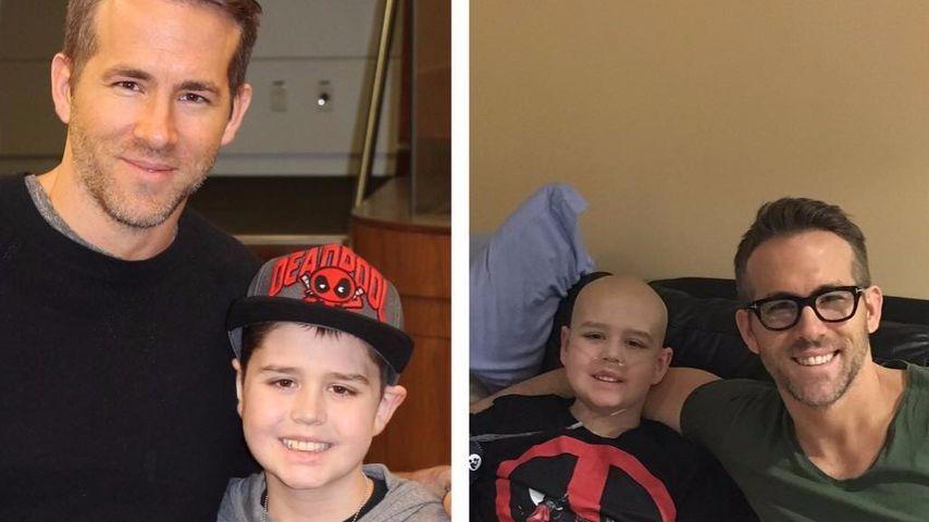 Verstorbener Fan: So süß gedenkt Ryan Reynolds Conner (✝13)