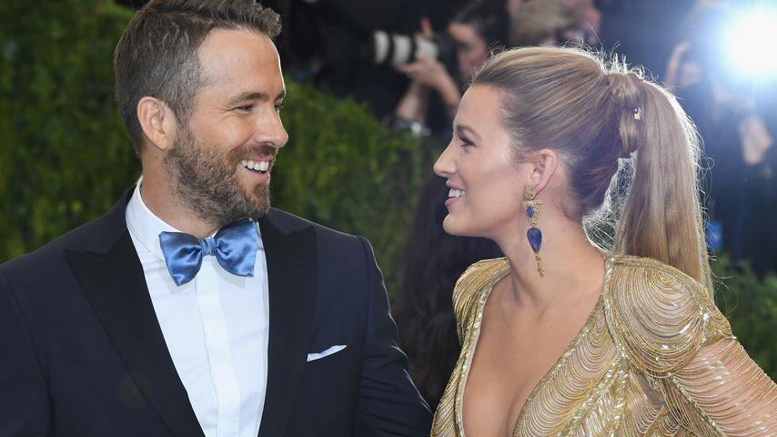 Ryan zu heiß? Blake Lively scherzt über Schwangerschaft!