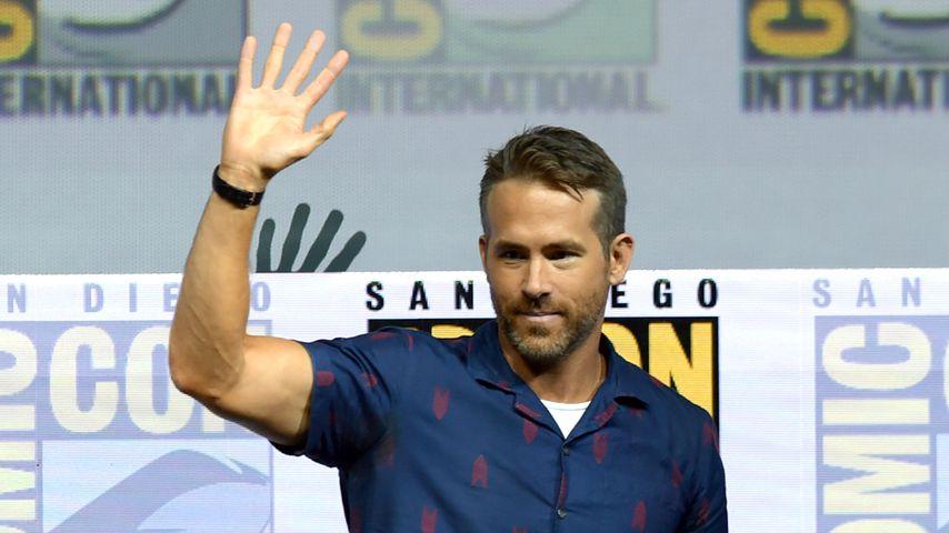 Ryan Reynolds bei der Comic-Con 2018