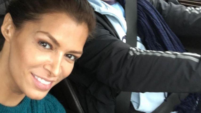 Make-up unnötig! Sabia Boulahrouz strahlend schön auf Tour