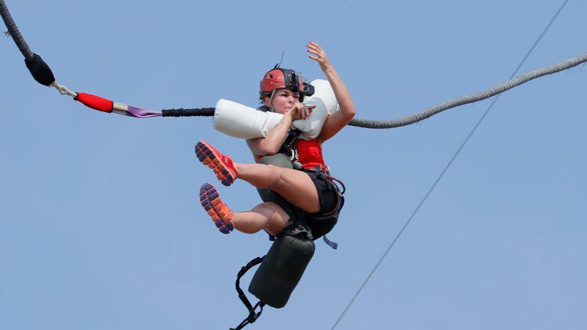 Bei GG-Challenge: Sabia Boulahrouz bricht im Flug zusammen!