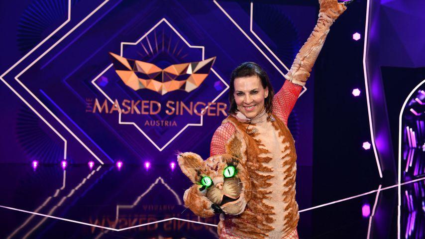 """Sabine Petzl bei """"The Masked Singer Austria"""" 2020"""
