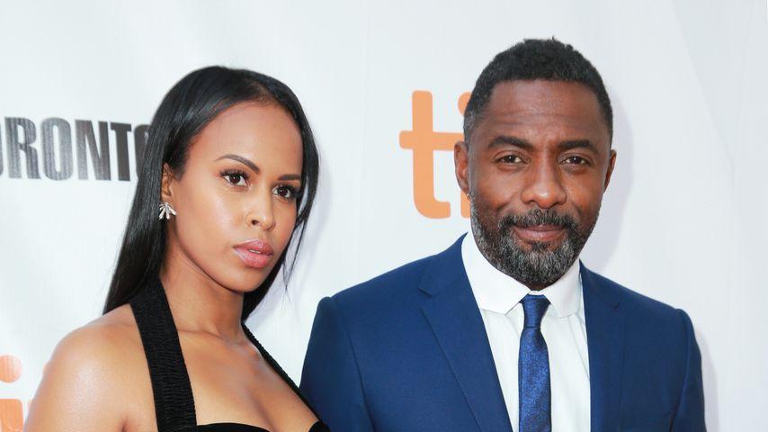 Sabrina Dhowre und Idris Elba bei einer Premiere in Toronto