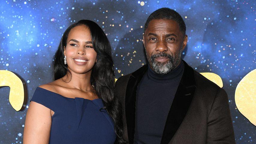"""Sabrina Dhowre und Idris Elba bei der Premiere von """"Cats"""""""
