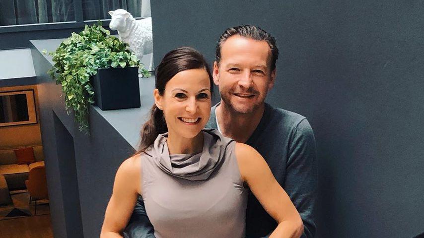 Sabrina Mockenhaupt mit ihrem Ehemann Kai Gregor