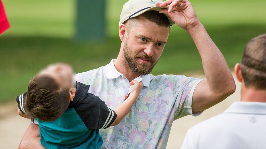 Wegen Fame: Justin Timberlake hat Angst um seine beiden Kids