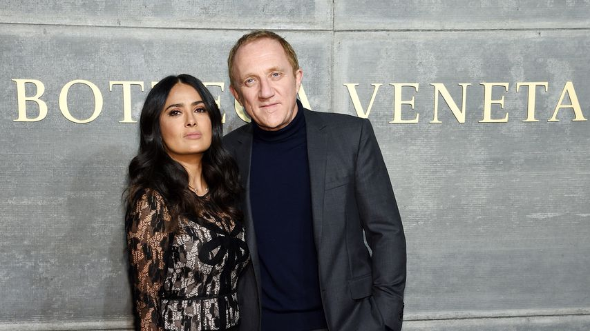 Salma Hayek und Francois-Henri Pinault bei der New York Fashion Week 2018