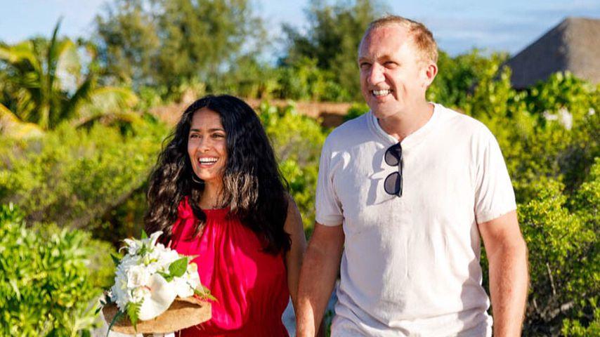Salma Hayeks Mann überrascht sie mit zweiter Hochzeit