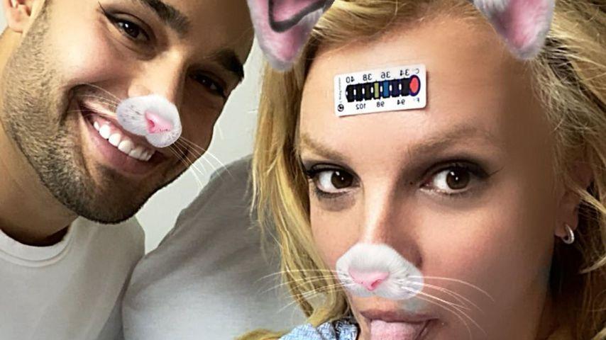 Sam Asghari und Britney Spears im Krankenhaus