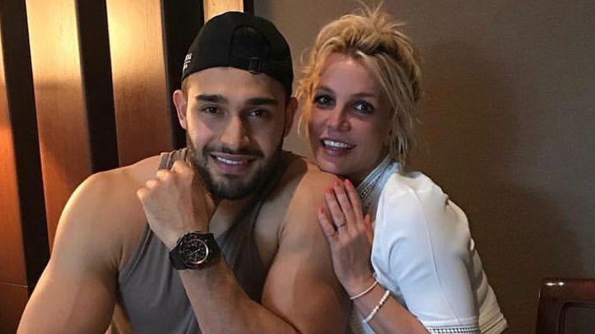 Sam Asghari und Britney Spears im Mai 2019