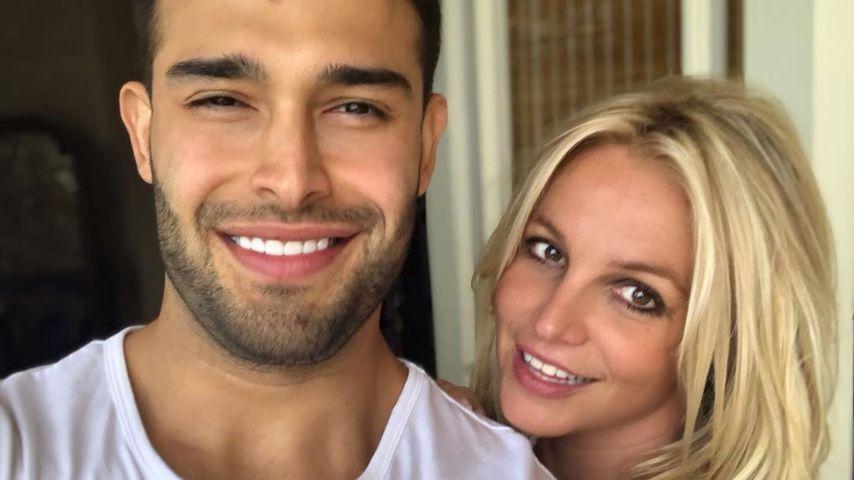 Von wegen Trennung: Britney Spears immer noch mit Sam happy