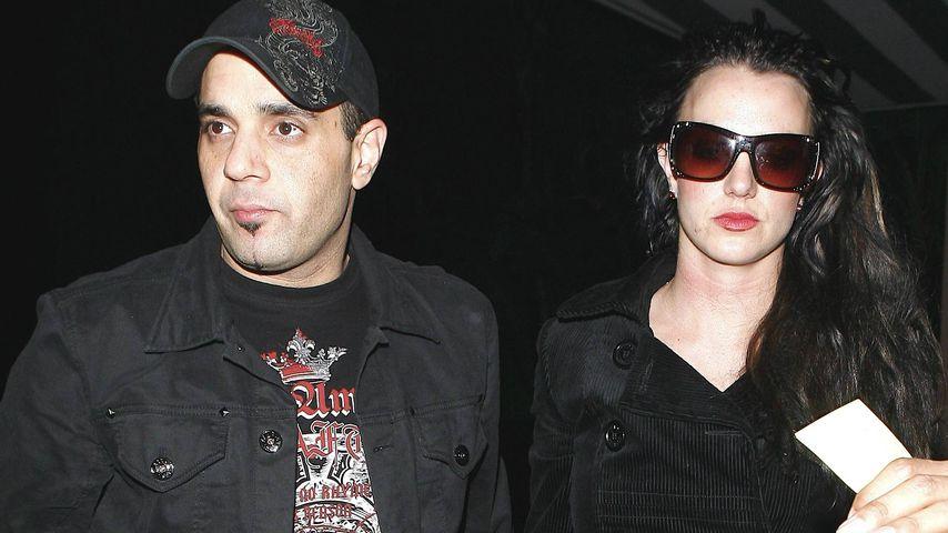 Sam Lutfi und Britney Spears im Januar 2008