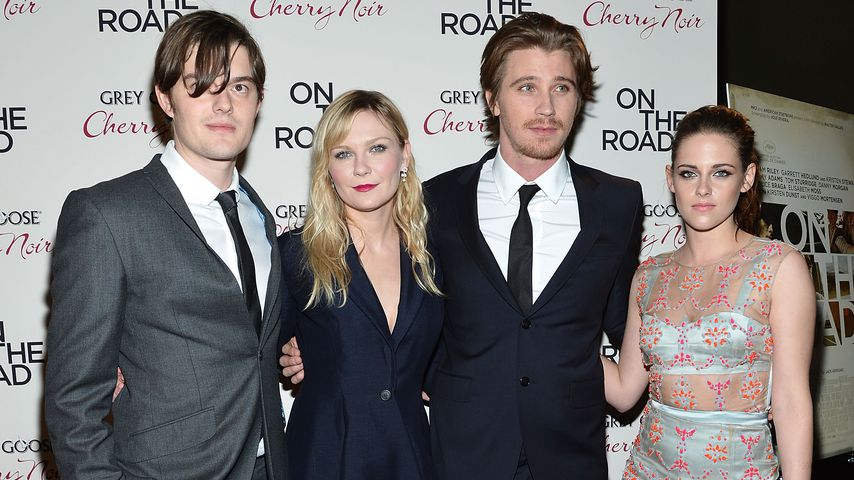 "Sam Riley, Kirsten Dunst, Garrett Hedlund und Kristen Stewart bei der ""On The Road""-Premiere 2012"