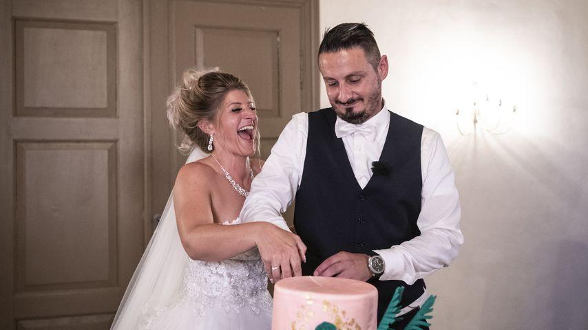 """Samantha und Serkan bei ihrer """"Hochzeit auf den ersten Blick, 2019"""