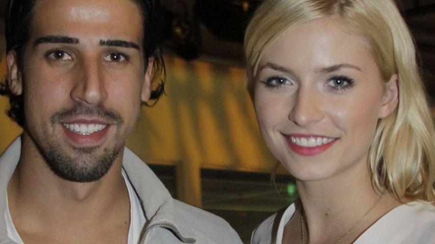 Sami Khedira und Lena Gercke