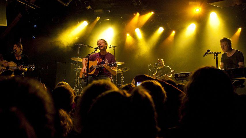 Samu Haber bei einem Konzert in der Schweiz