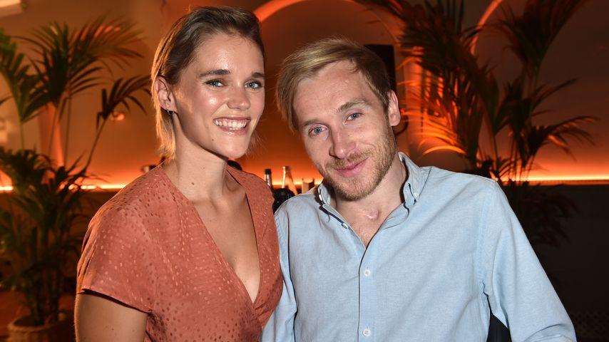 Sarah Elena Timpe und Samuel Koch auf dem Filmfestival in München