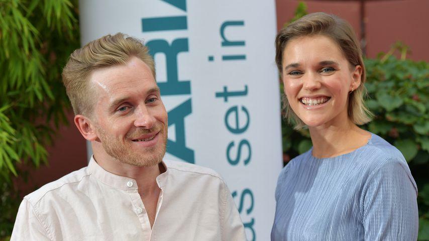 Samuel Koch und Sarah Elena Timpe im Juli 2018