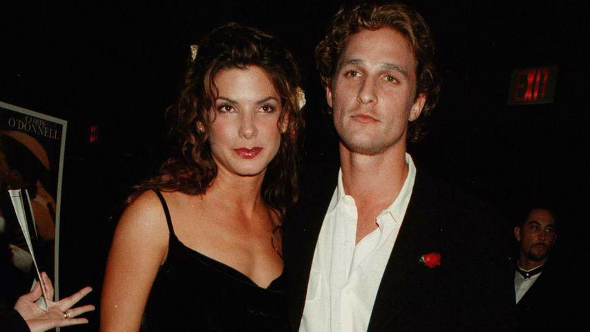 Sandra Bullock und Matthew McConaughey, Oktober 2000