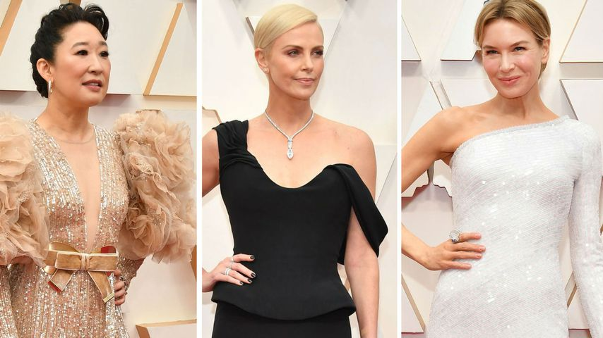 Die glamourösesten Red-Carpet-Looks der Oscars 2020