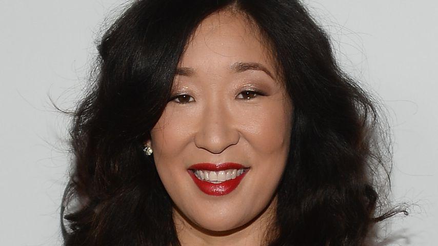 """Schauspielerin Sandra Oh auf der Party zur 200. Folge von """"Grey's Anatomy"""", 2013"""