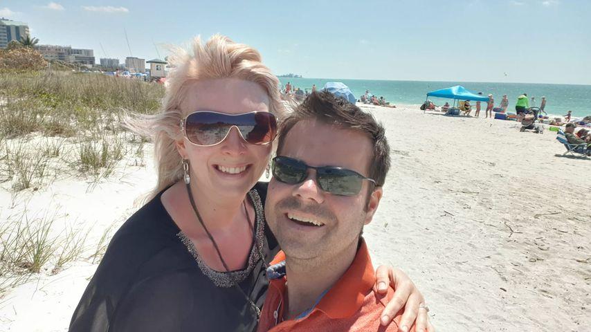 Sandra und ihr Freund Andy, März 2019