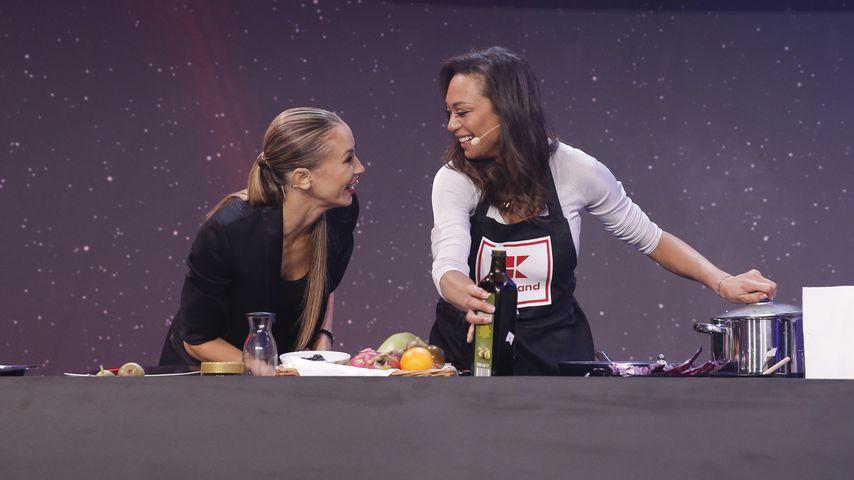 """Sandy Meyer-Wölden und Lilly Becker bei der Präsentation der neuen """"Star Wars""""-Kollektion"""