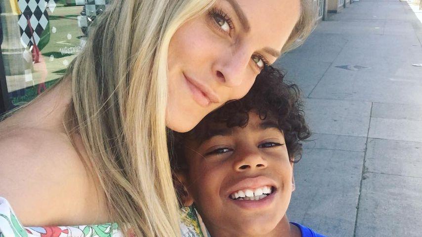 Sandy Mölling und ihr Sohn Jayden